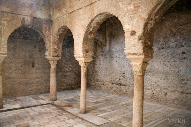 Baños árabes. Granada